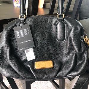 MARC JACOBS Q Legend Pebbled Leather Satchel